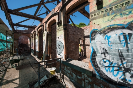 Renovation and conversion of derelict train station into five bespoke properties