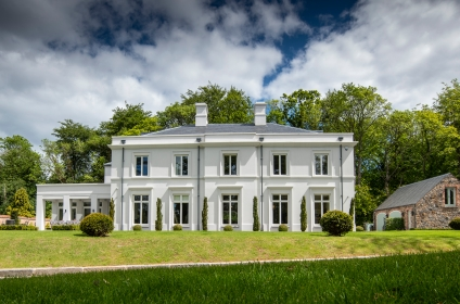 A High Quality 'Period' Style Property with Coach House and Walled Garden