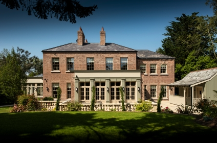 Neo-classically Inspired New Home and Gardens