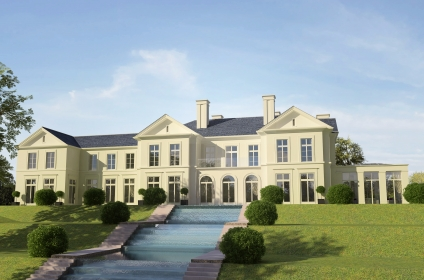 Classical luxury house design situated in St. George's Hill, Surrey