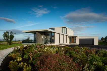 A Linear design on an elevated site with views of the Mourne Mountains, Co. Down
